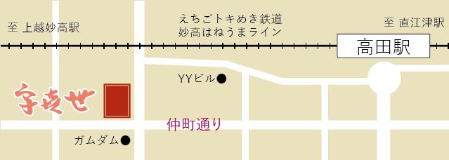 新潟県 上越市 大島グループ ガムダム 地図